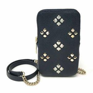 Kate spade Margaux Enamel Spade Phone Case Bag